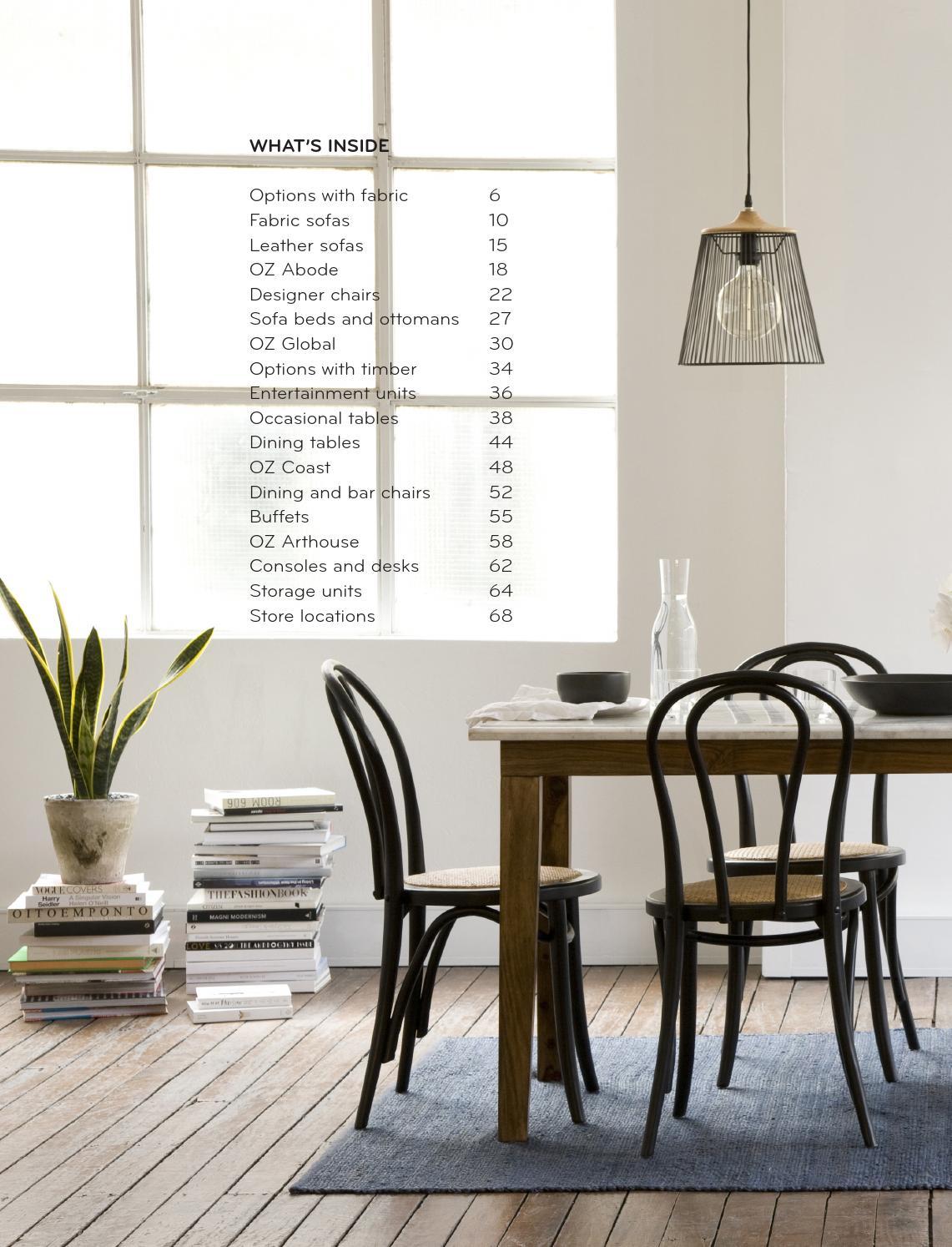 Oz design furniture summer 15 16 directory by oz design for Oz design outdoor furniture