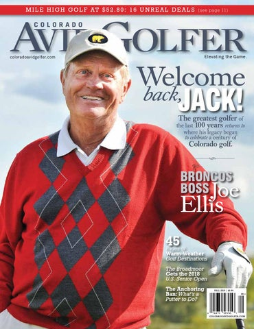 Jack Nicklaus Fall 2015