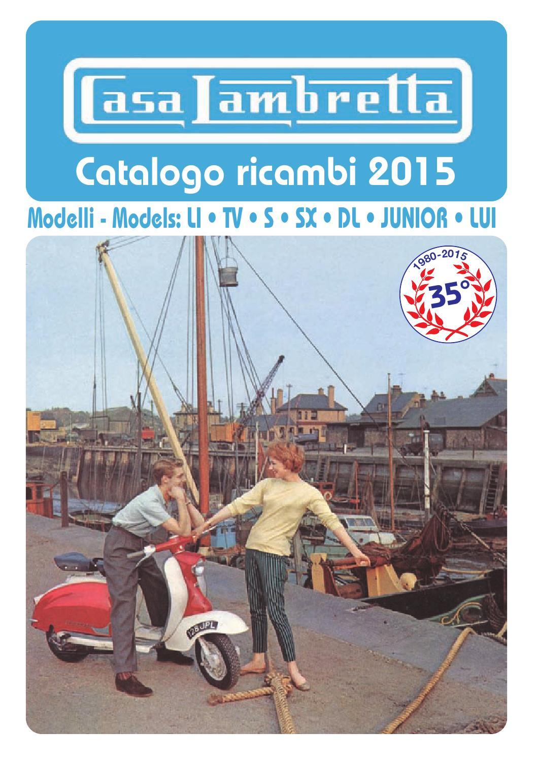 Catalogo ricambi 2015 casa lambretta by fluid for Catalogo casa