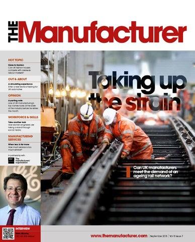 The Manufacturer September 2015