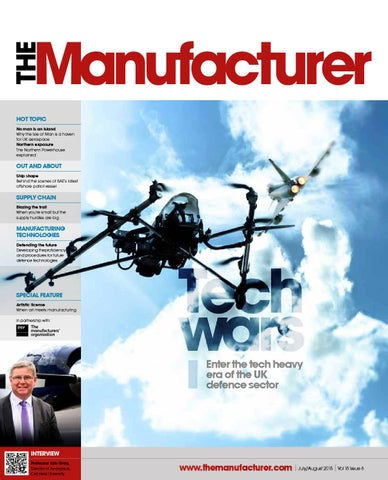The Manufacturer July/August 2015