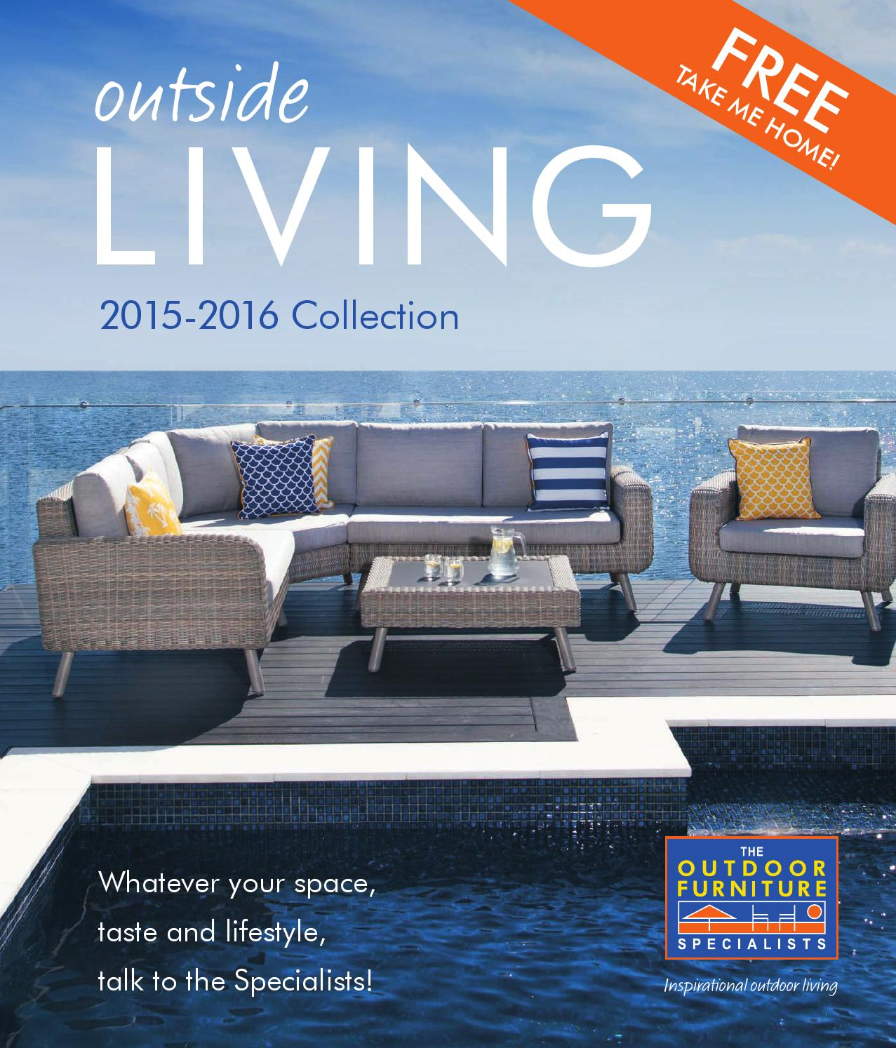 Catalogue 2015 2016 The Outdoor Furniture Specialists By
