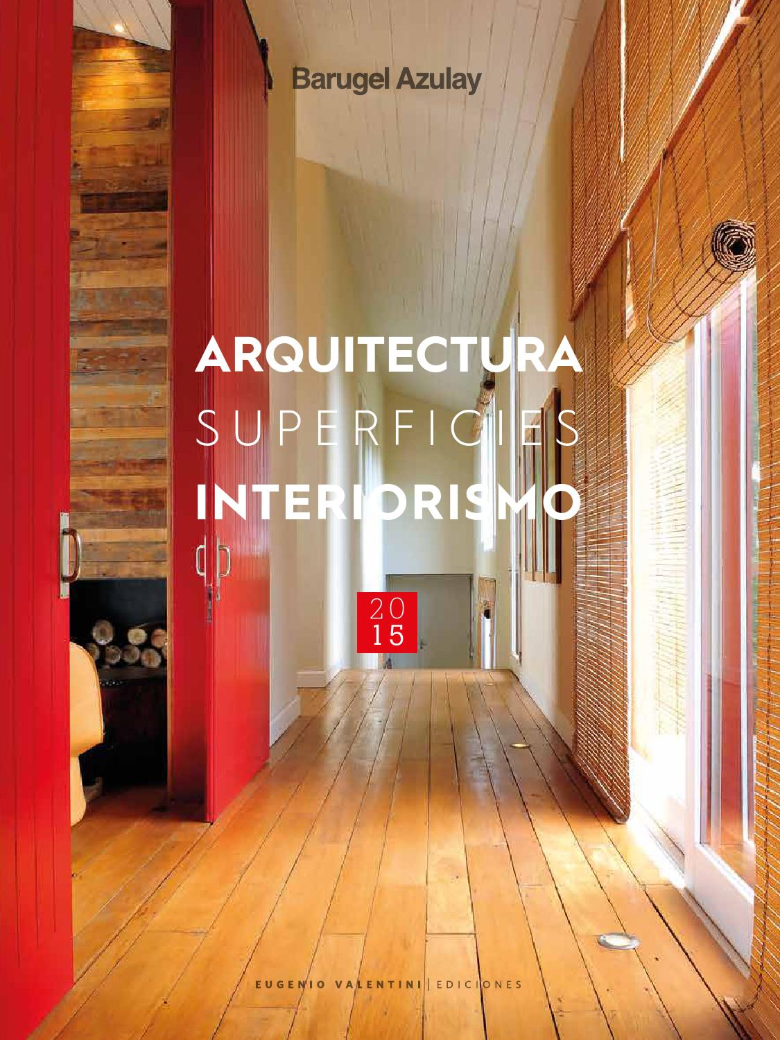 Arquitectura superficies interiorismo 2015 by un amplio for Articulos de arquitectura 2015