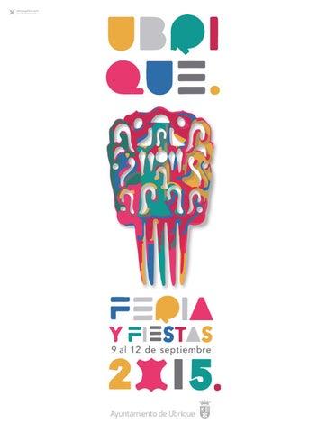 Programa Feria y Fiestas de Ubrique 2015