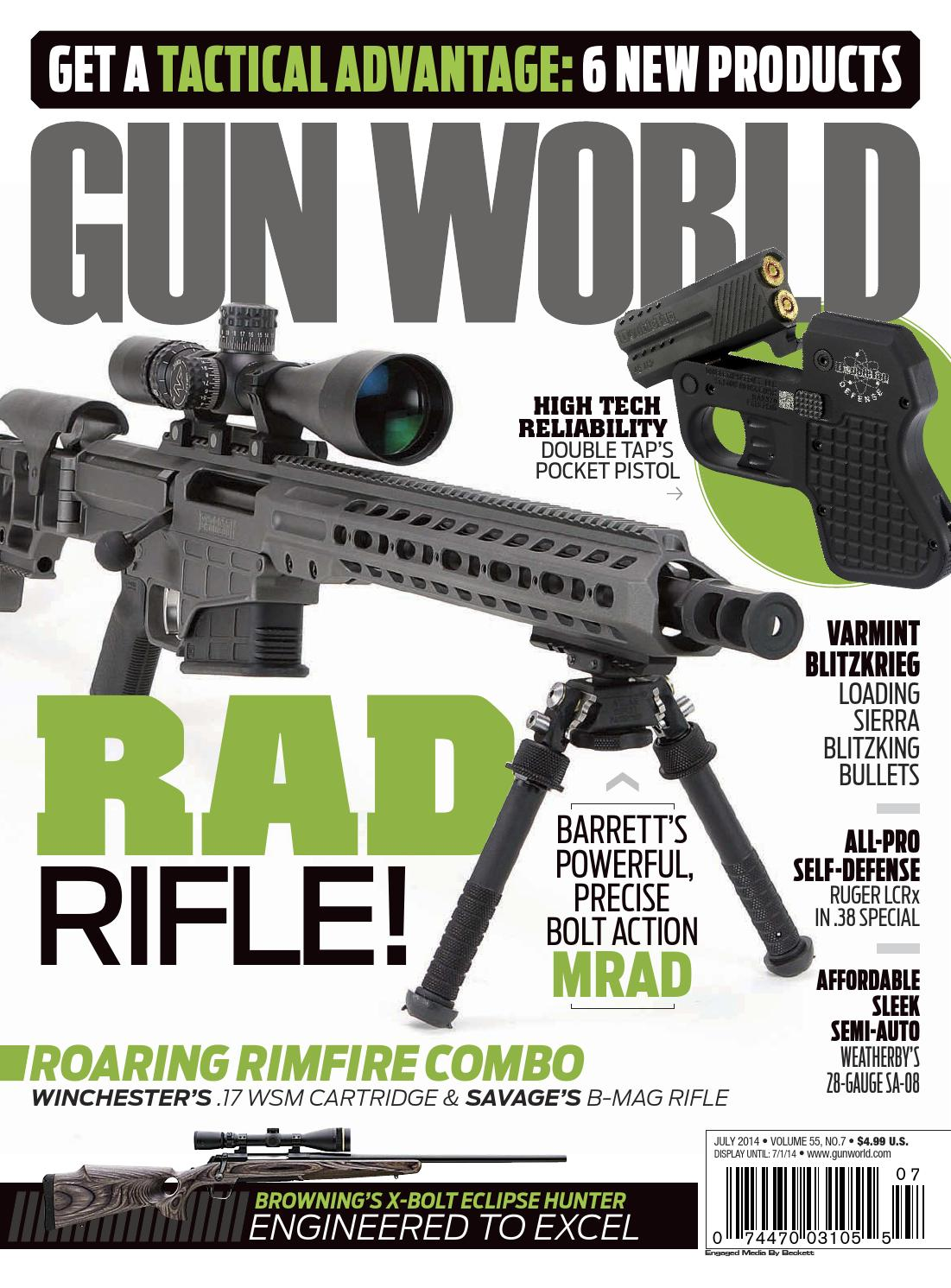 gun world 2014 july by sensei issuu