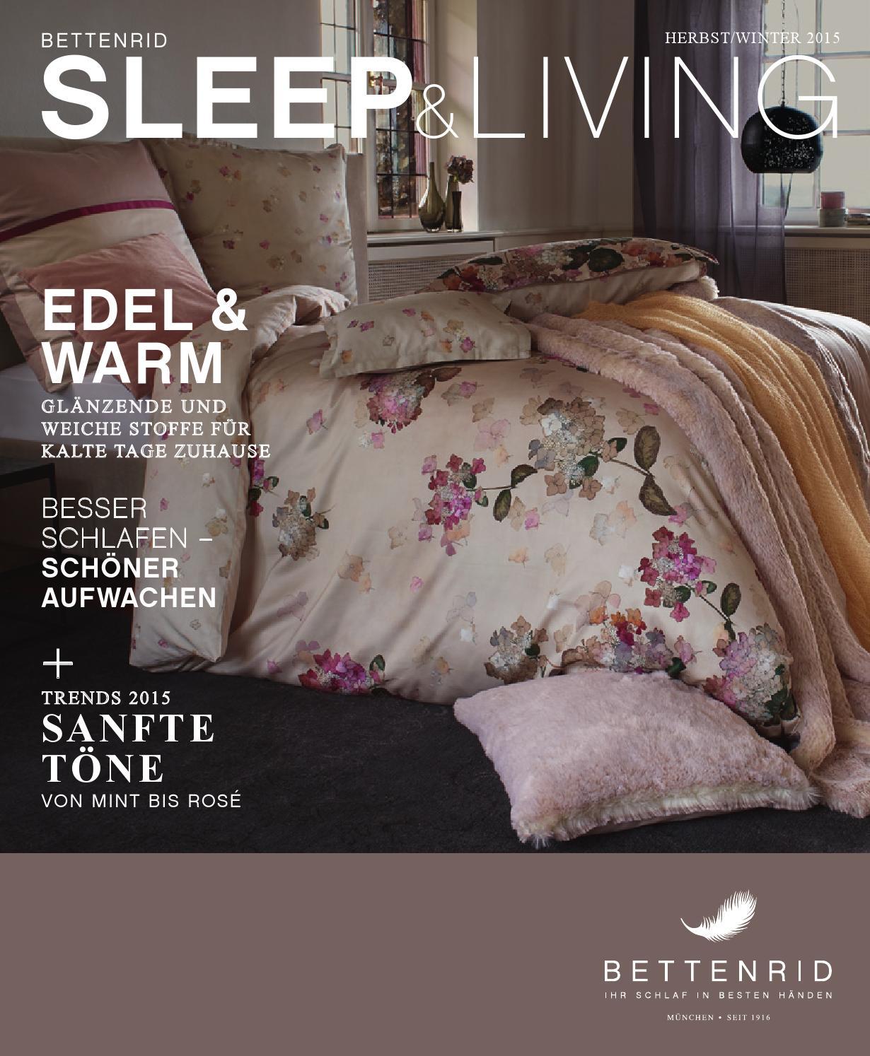 Bettenrid: Sleep & Living Herbst/winter 2015 By Bettenrid Gmbh - Issuu Stoff Fur Bettwasche Worauf Achten
