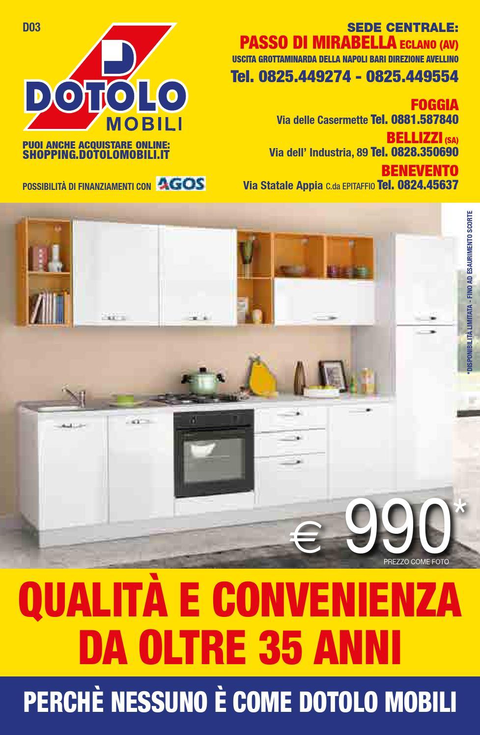 Issuu dotolo mobili catalogo 2015 by dotolo mobili for Catalogo di mobili