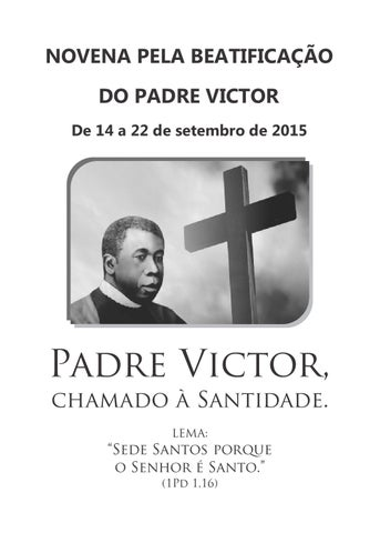 [Informativo: Novena pela Beatificação do Padre Victor]