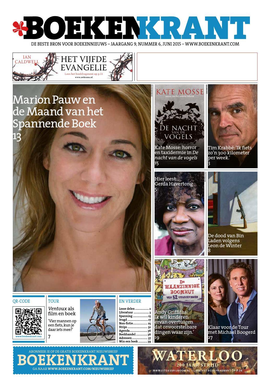 Boekenkrant juni 2015 by Redactie Boekenkrant - issuu