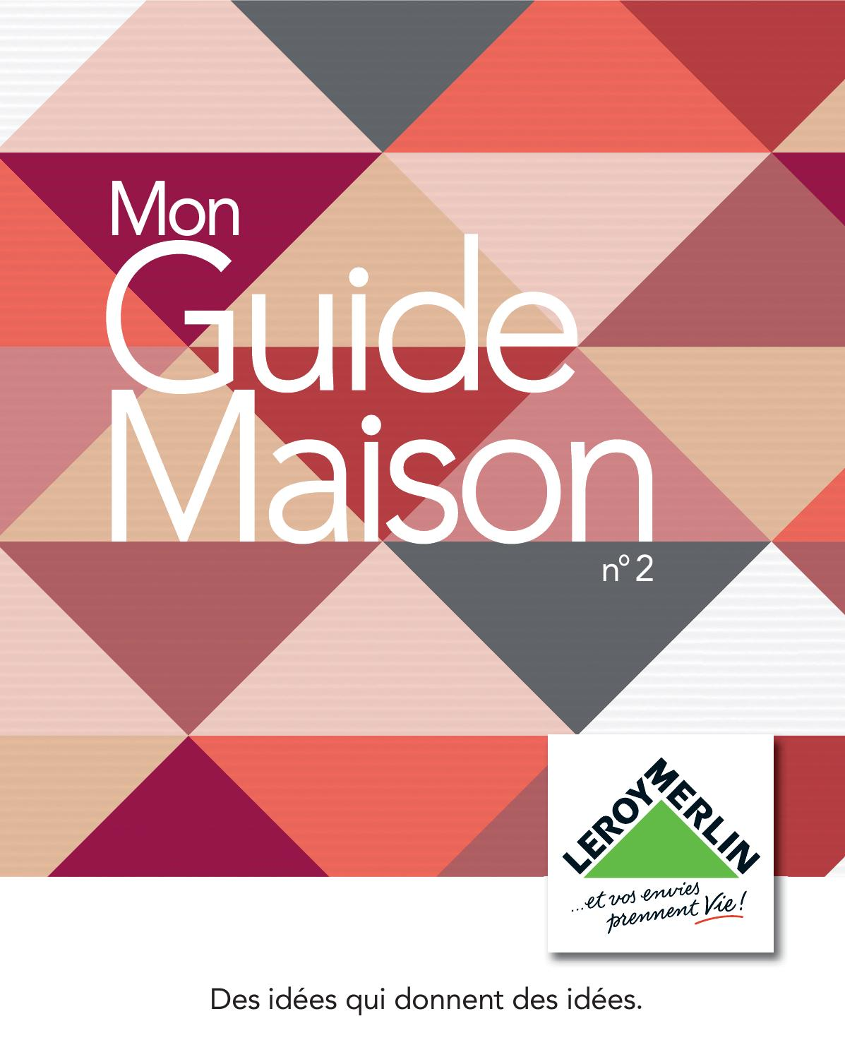 Leroy merlin catalogue guide maison 2015 by for Remachadora manual leroy merlin