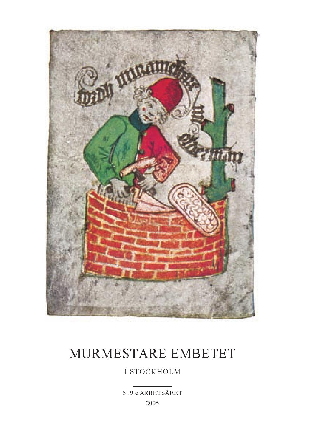 Årsskrift 2005 by murmestare   issuu