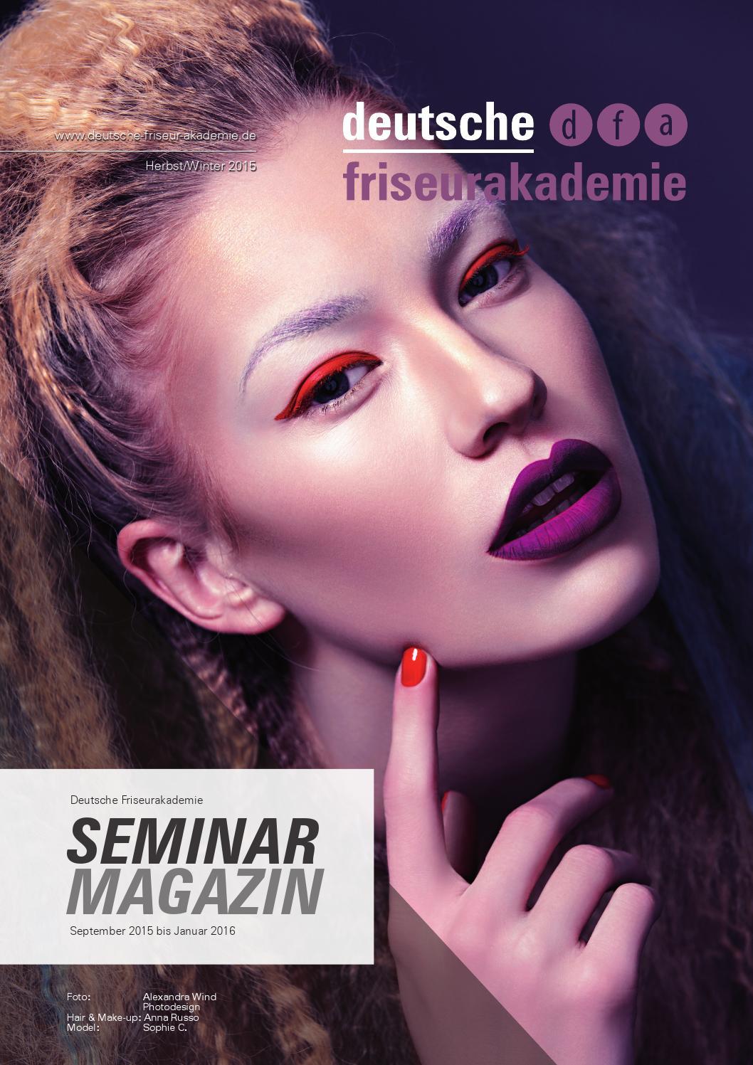 deutsche friseurakademie magazin 2015 02 by deutsche