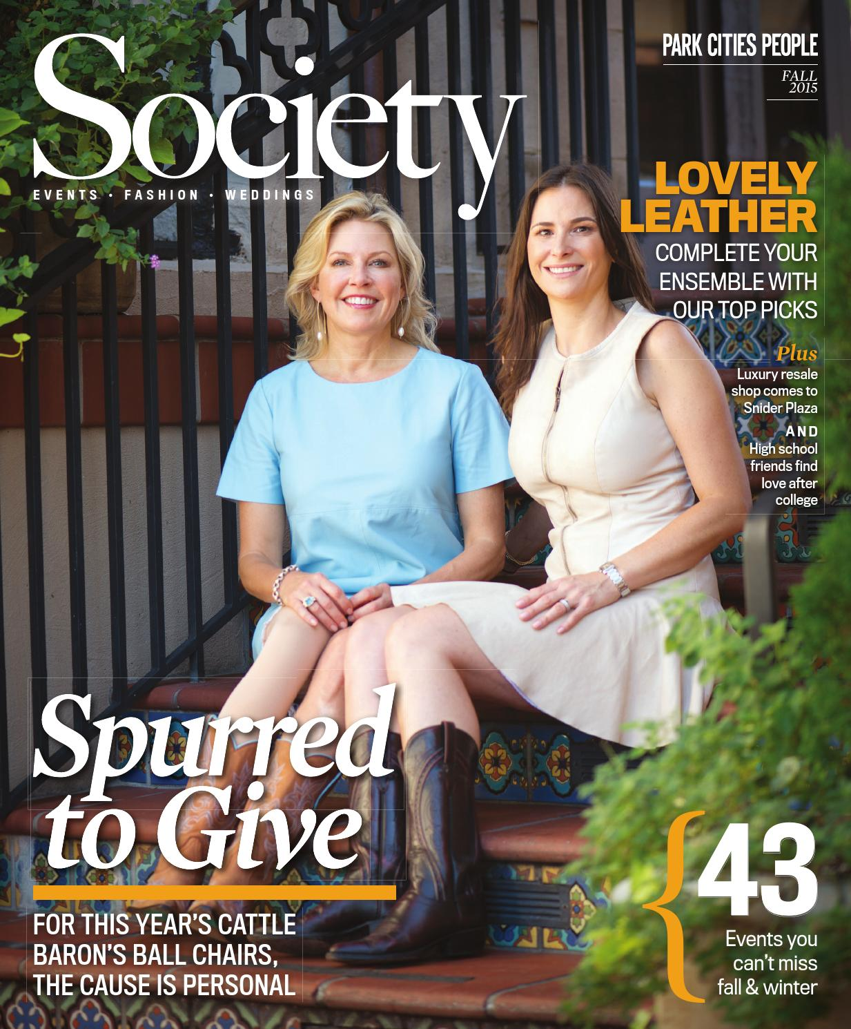 Society Magazine Fall 2015 By People Newspapers Issuu