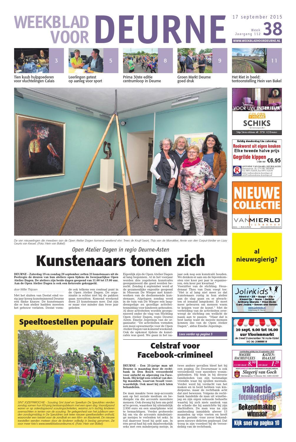 Decoratie raamdecoratie deurne : Weekblad voor deurne wk38 by Das Publishers! - issuu