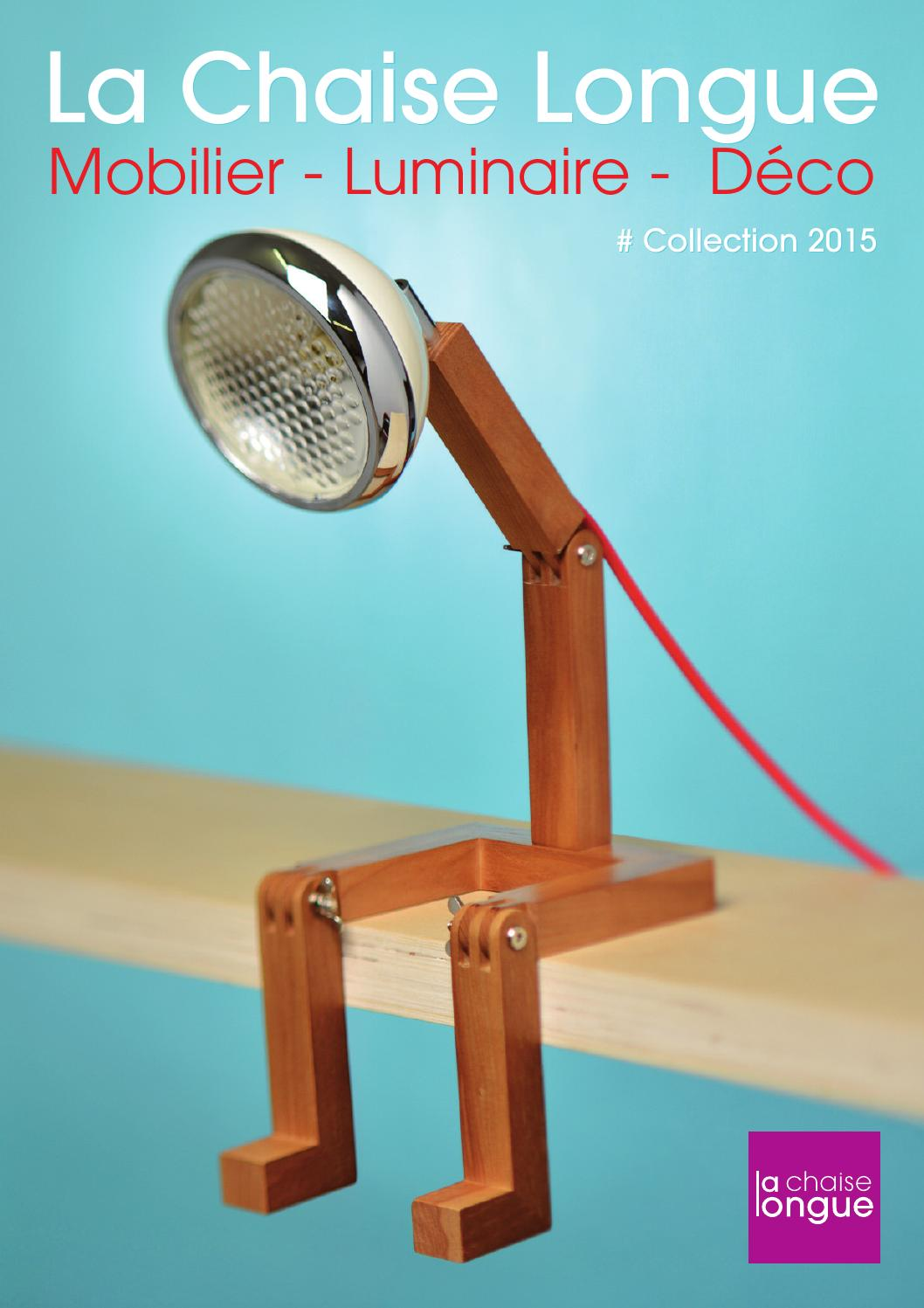 Mobilier2015 by la chaise longue issuu for Chaise longue interieur