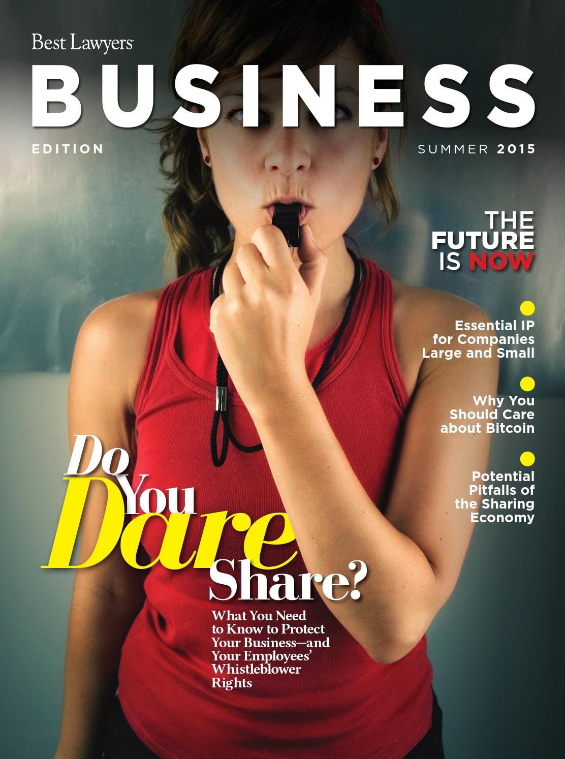Best Lawyers Summer Business Edition 2015 By Best Lawyers