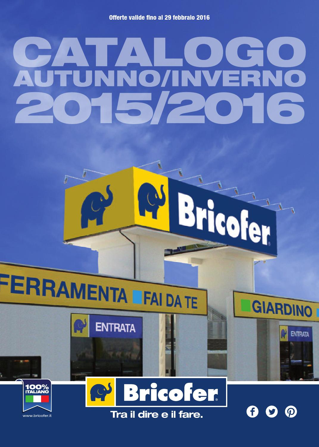 catalogo autunno inverno 2015 2016 by bricofer italia spa