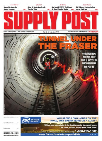 Supply Post Eastern Cover - October 2015
