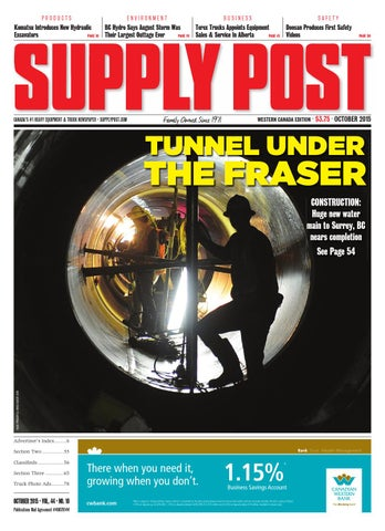 Supply Post Western Cover - October 2015