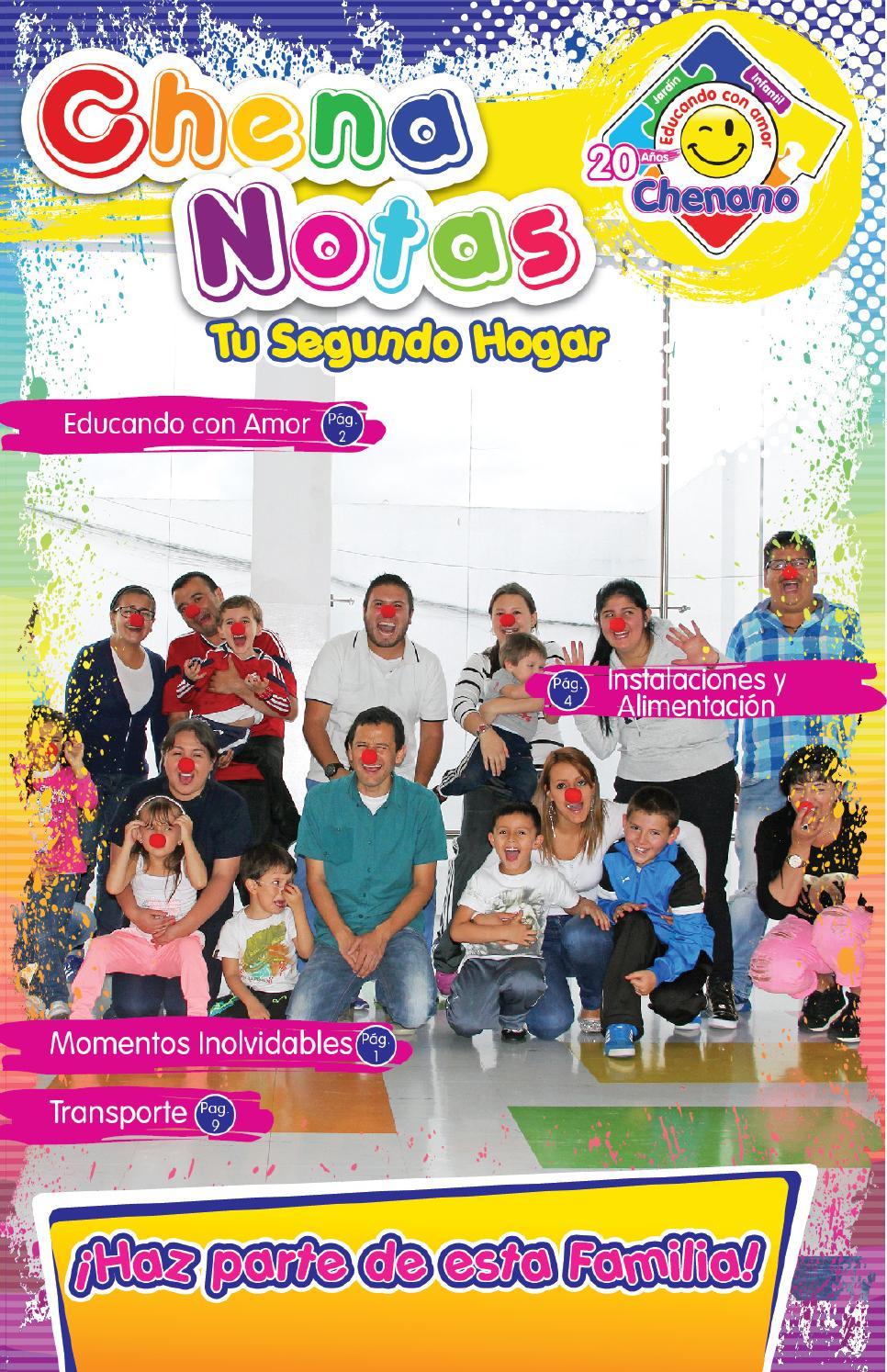 Revista chenanotas septiembre 2015 by jard n infantil for Vendo jardin infantil 2015
