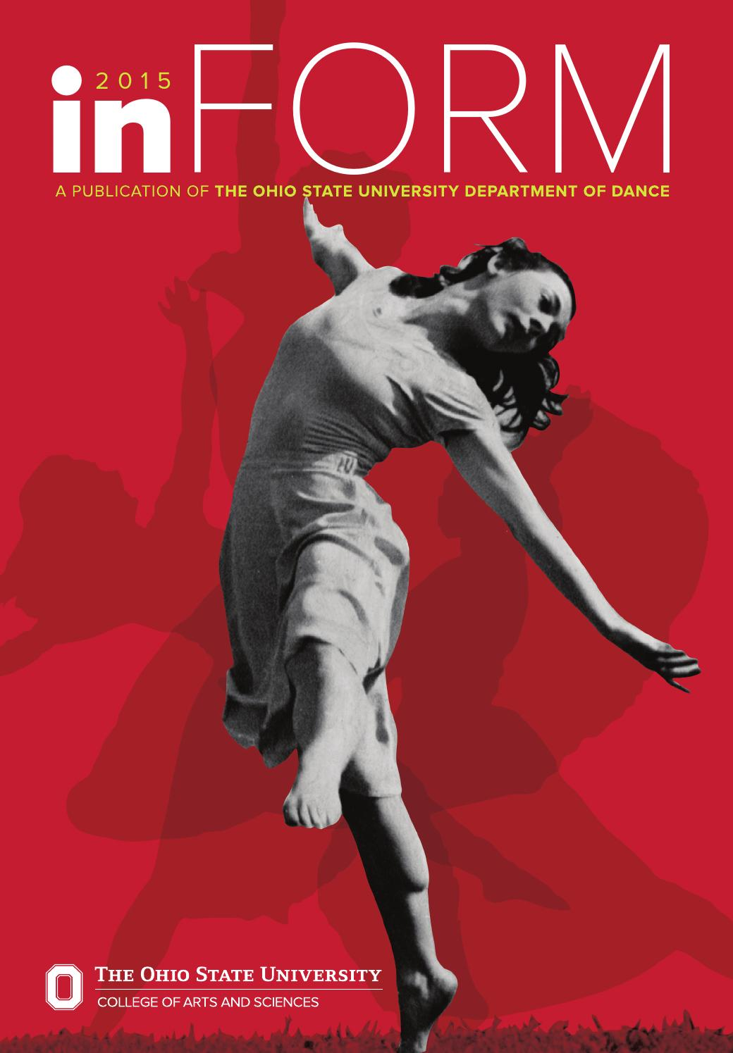 ohio state department of dance inform magazine by college of ohio state department of dance 2015 inform magazine by college of arts and sciences at ohio state issuu