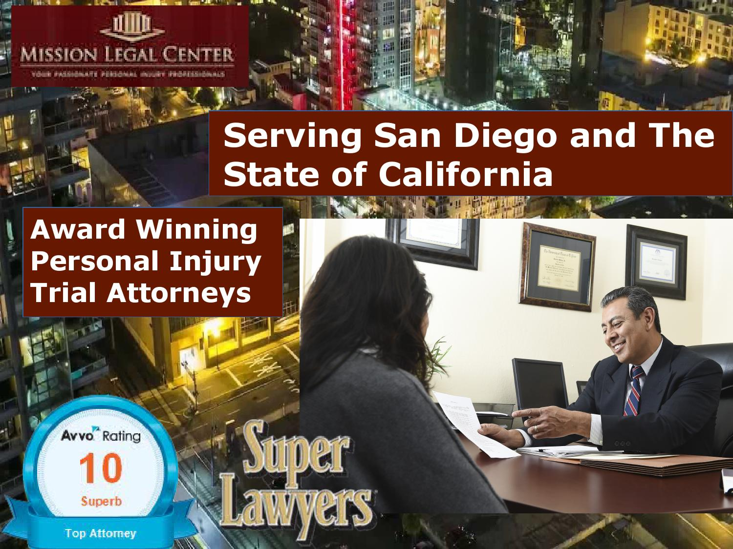 Personal Injury Attorney San Diego
