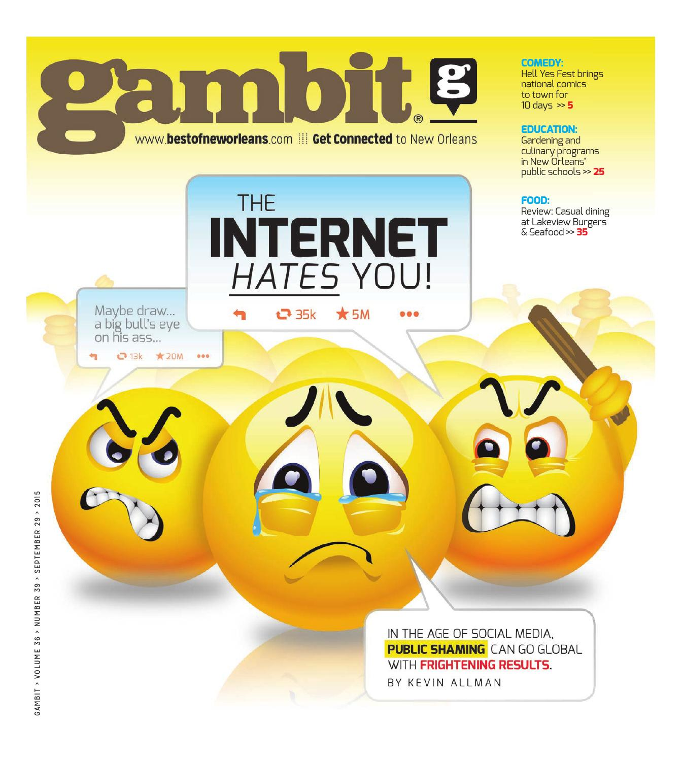 Jerseys NFL Online - Gambit New Orleans November 3, 2015 by Gambit New Orleans - issuu