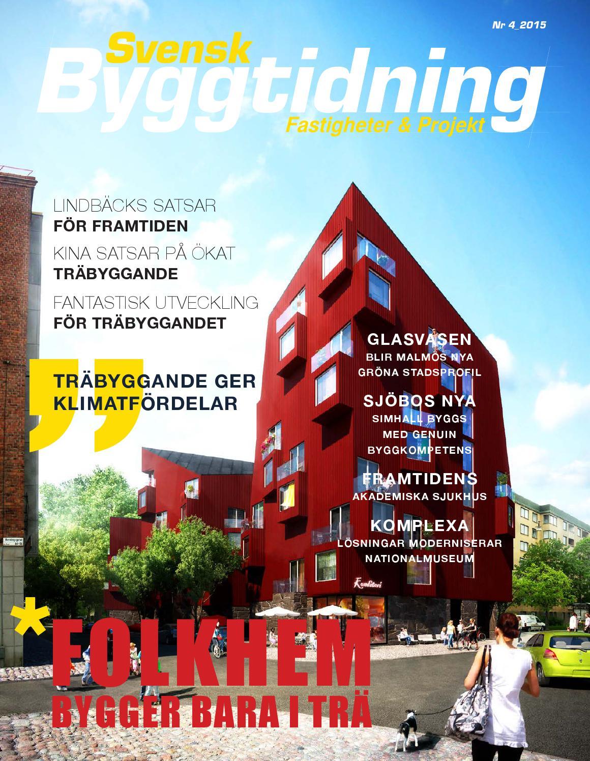 Svensk byggtidning 2/2016 by stordåhd kommunikation ab   issuu