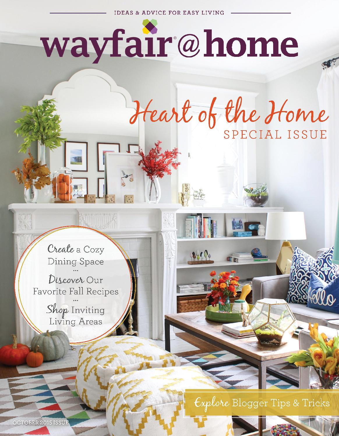 Wayfair Home October 2015 Special Issue By Issuu
