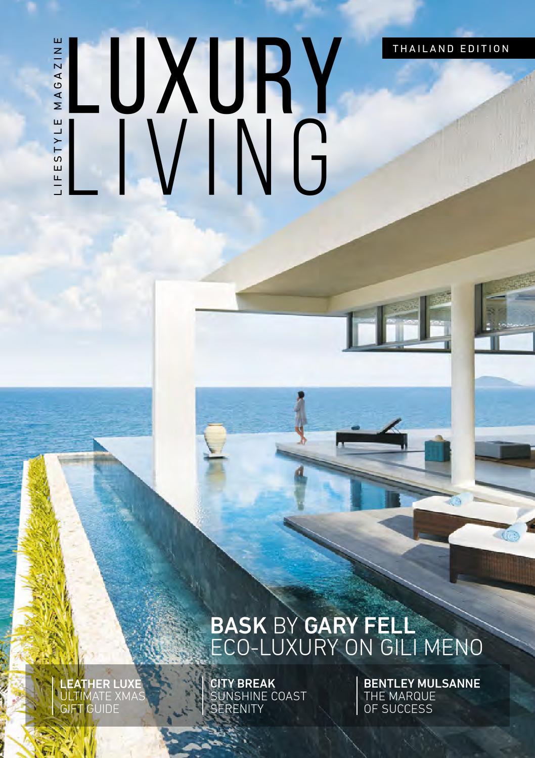 Luxury living magazine 8 issue by luxury living magazine issuu Home design and living magazine