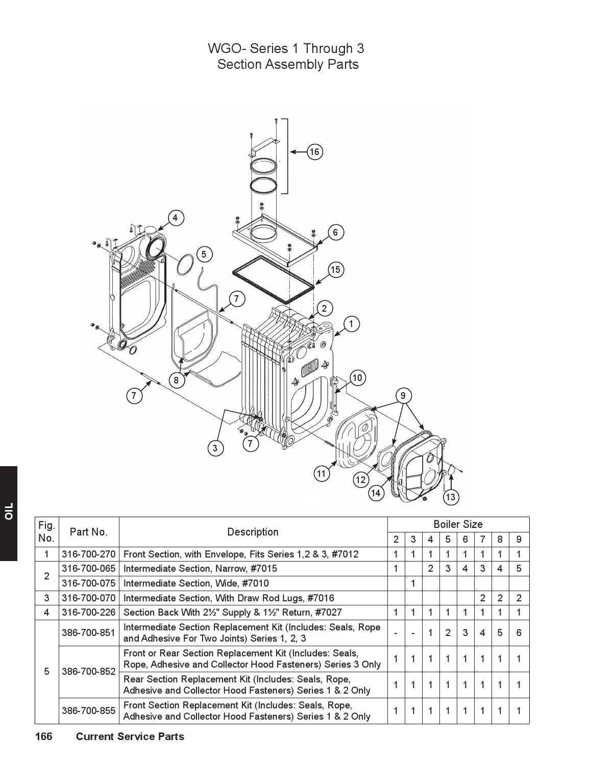 2015 service parts catalog by weil-mclain  page 166