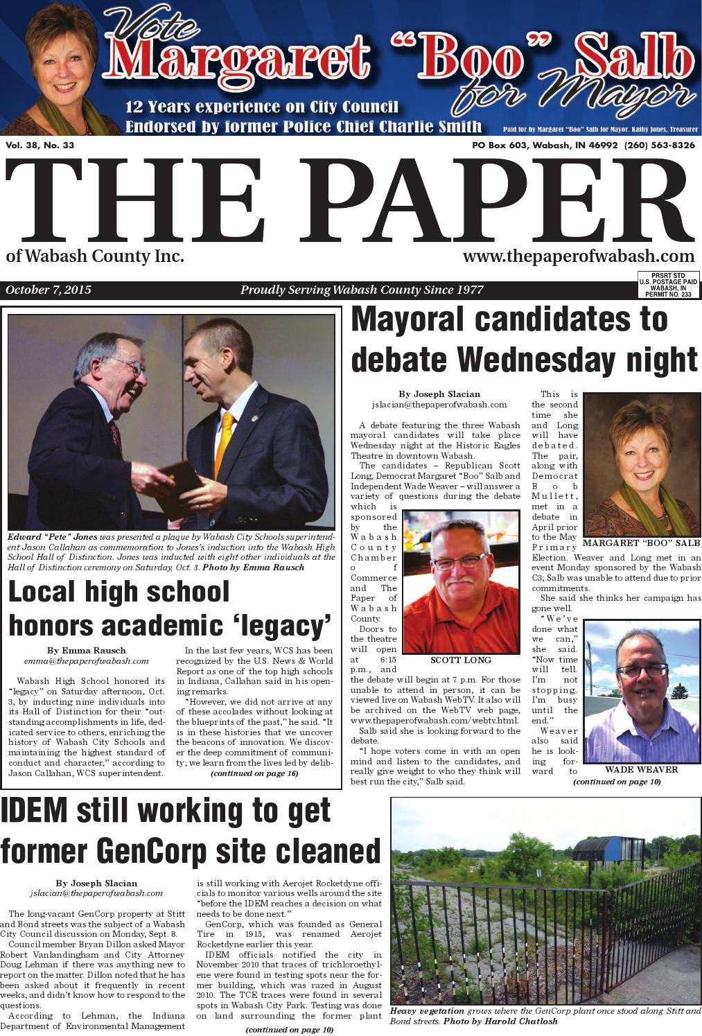 the paper of wabash county oct 7 2015 issue