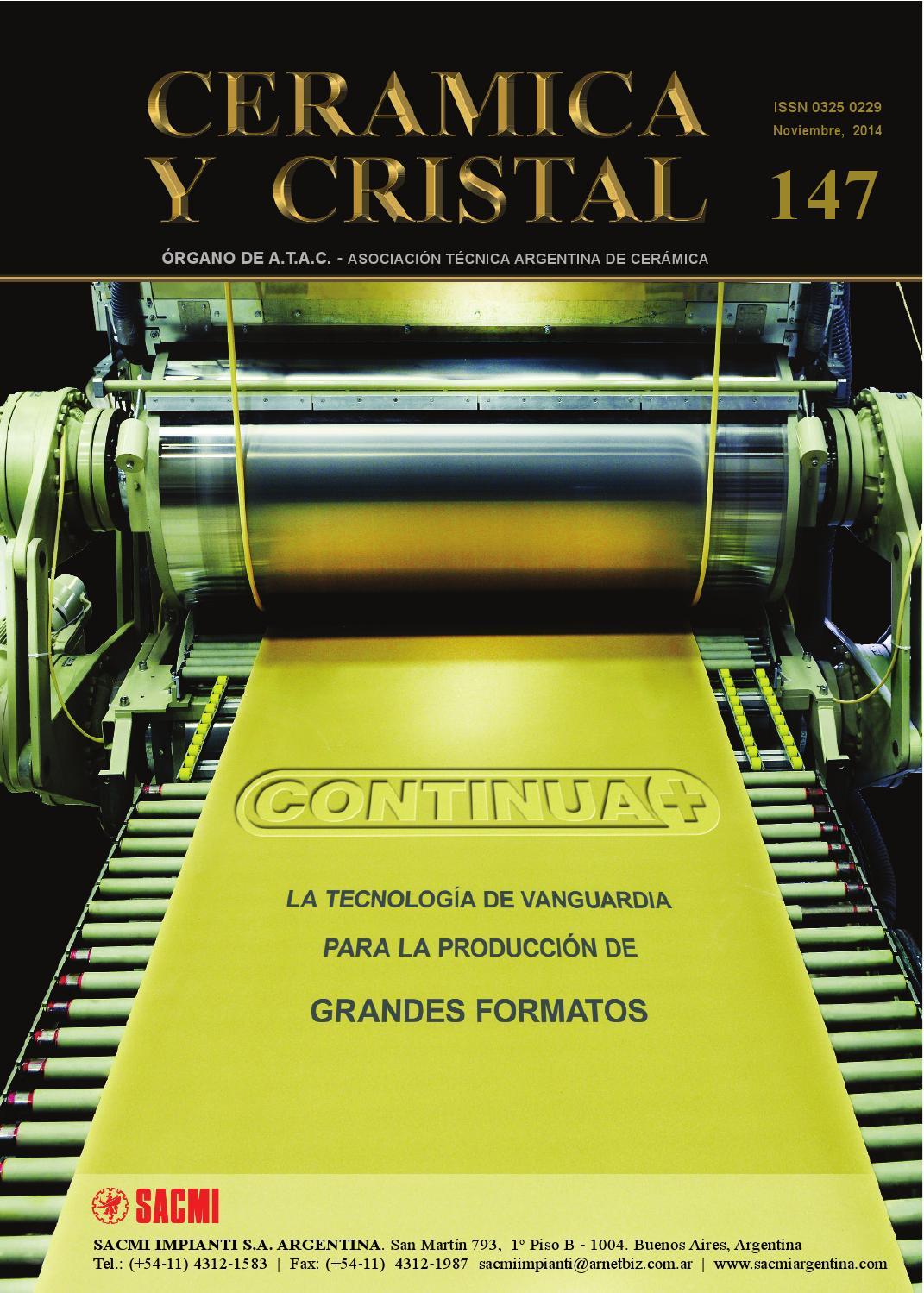 Cerámica y Cristal 147 by Editorial Ciclo - issuu