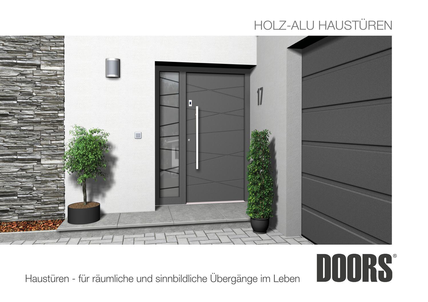 Holz aluminium haust ren by josef fenster t ren issuu for Ral 9006 fenster