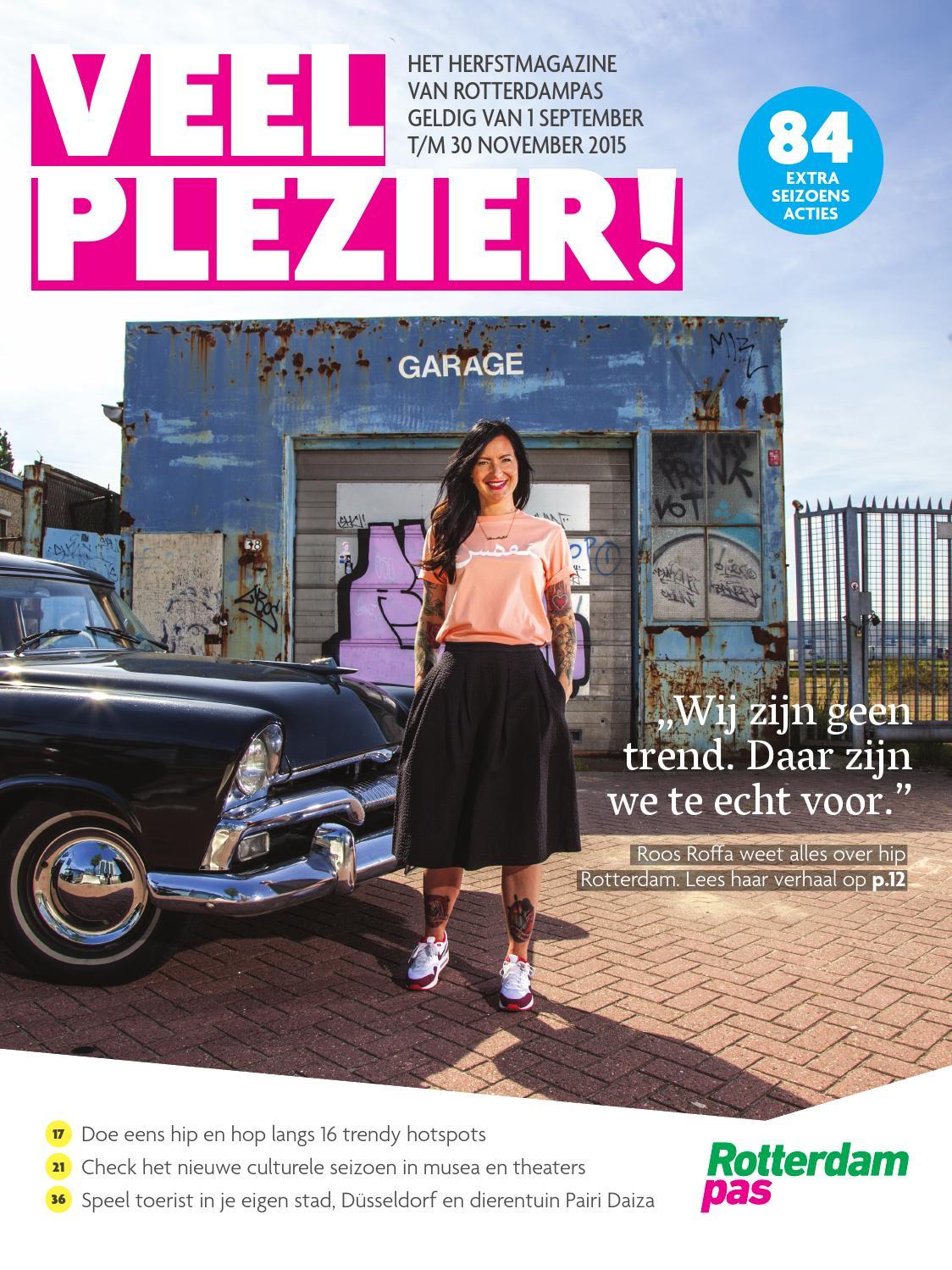 Veel Plezier! Herfst 2015 by Rotterdampas - issuu