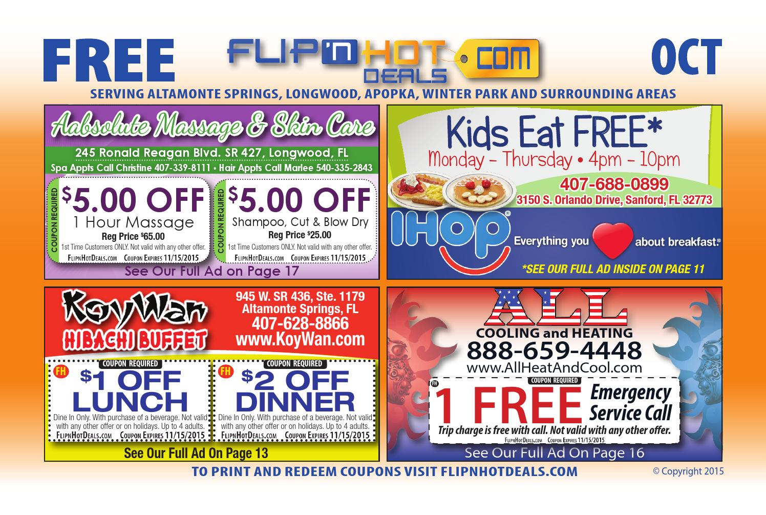 haircut coupons orlando flip nhot deals book oct 2015 orlando area 5673