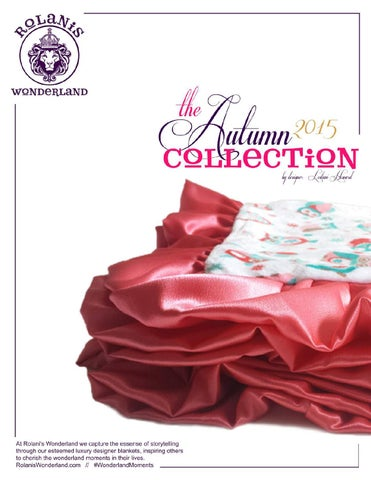 Rolani's Wonderland - The Autumn Collection 2015