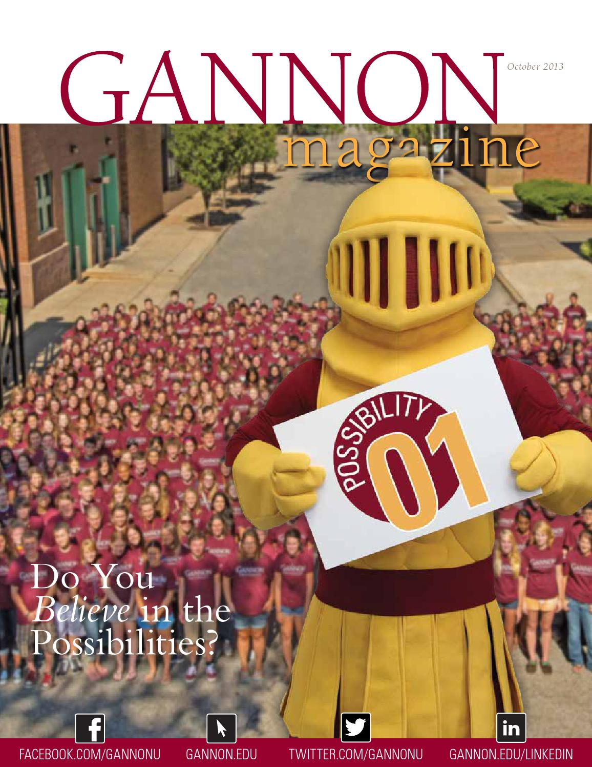 Gannon admissions essay