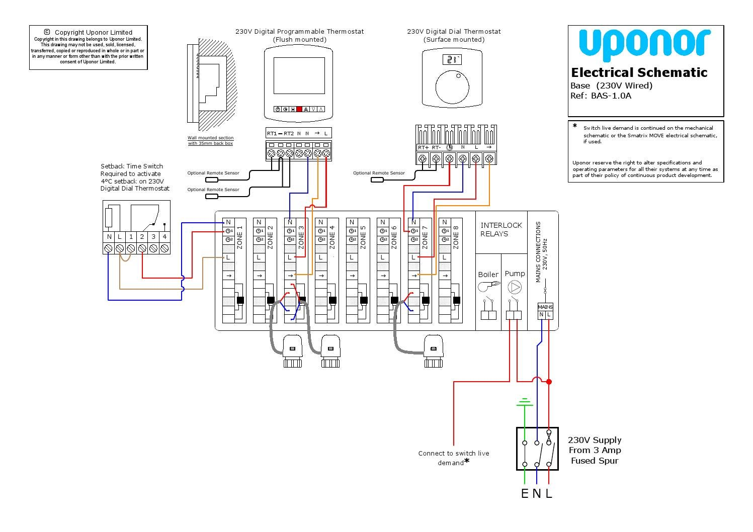 230v control system by uponor uk