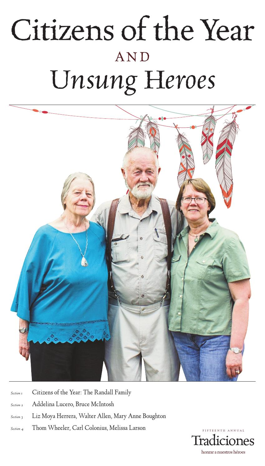citizen of the year and unsung heroes by the taos news issuu
