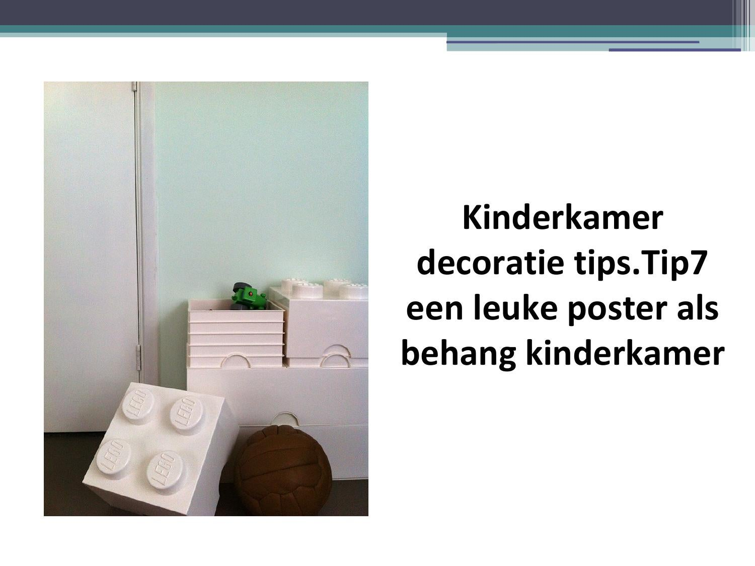 Kinderkamer decoratie tips Tip7 een leuke poster als behang kinderkamer by rowibliek04   issuu