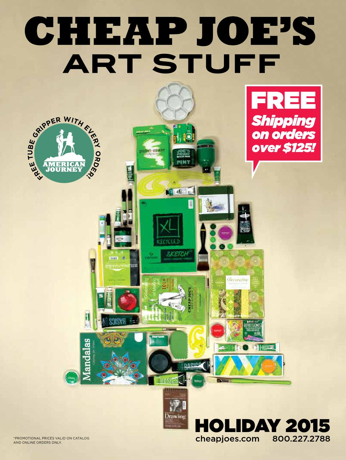 Cheap Joe's Art Stuff offers discount prices on art supplies and craft supplies. Shop our enormous collection of artist materials online, by phone or by mail for .
