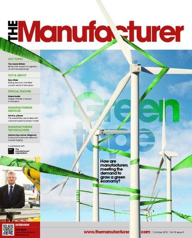 The Manufacturer October 2015