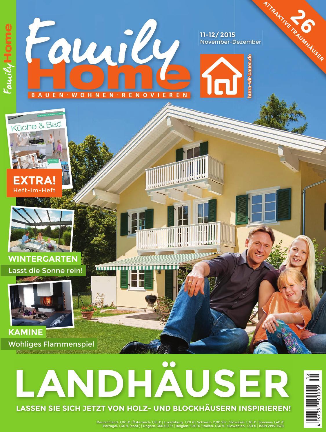 FamilyHome 11/12 2015 by Family Home Verlag GmbH - issuu