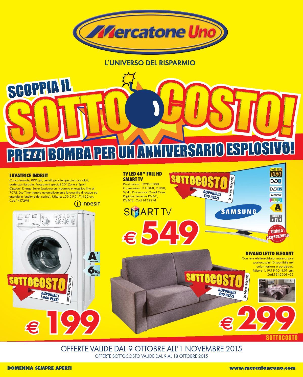 Mercatoneuno catalogo 9ottobre 1novembre2015 by for Emmelunga catalogo