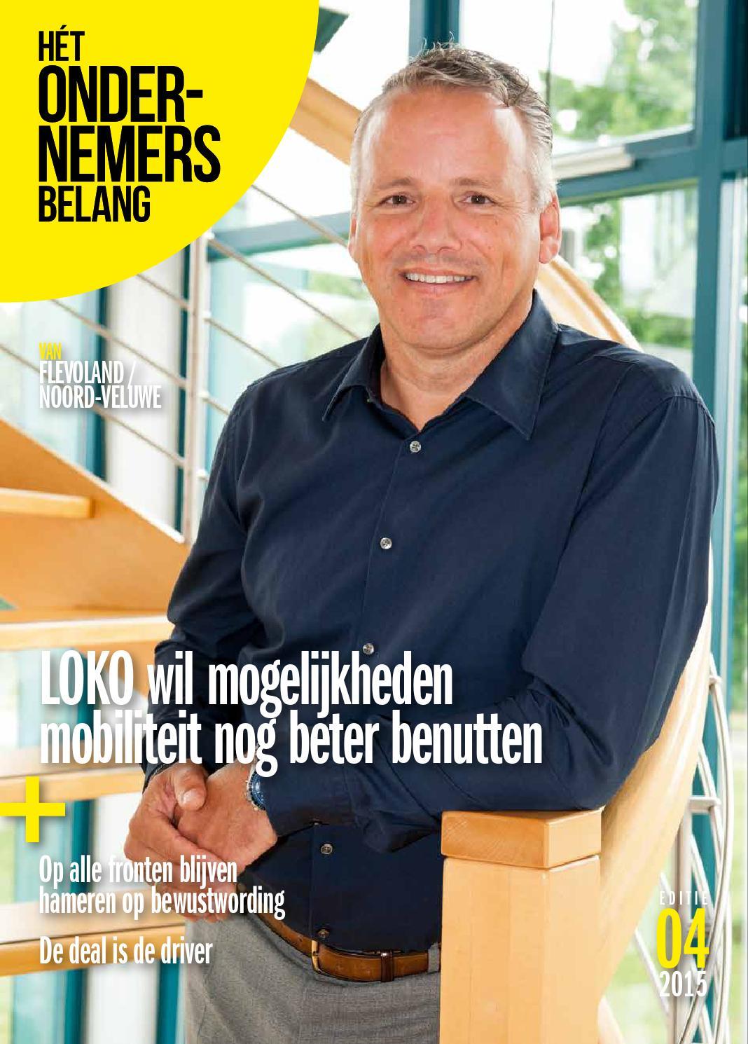Het ondernemersbelang flevoland 4 2015 by uitgeverij novema   issuu