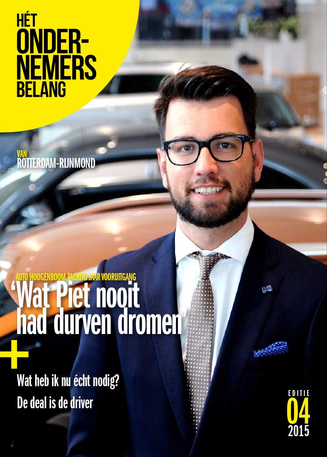 Het ondernemersbelang duin en bollenstreek 4 2015 by uitgeverij ...