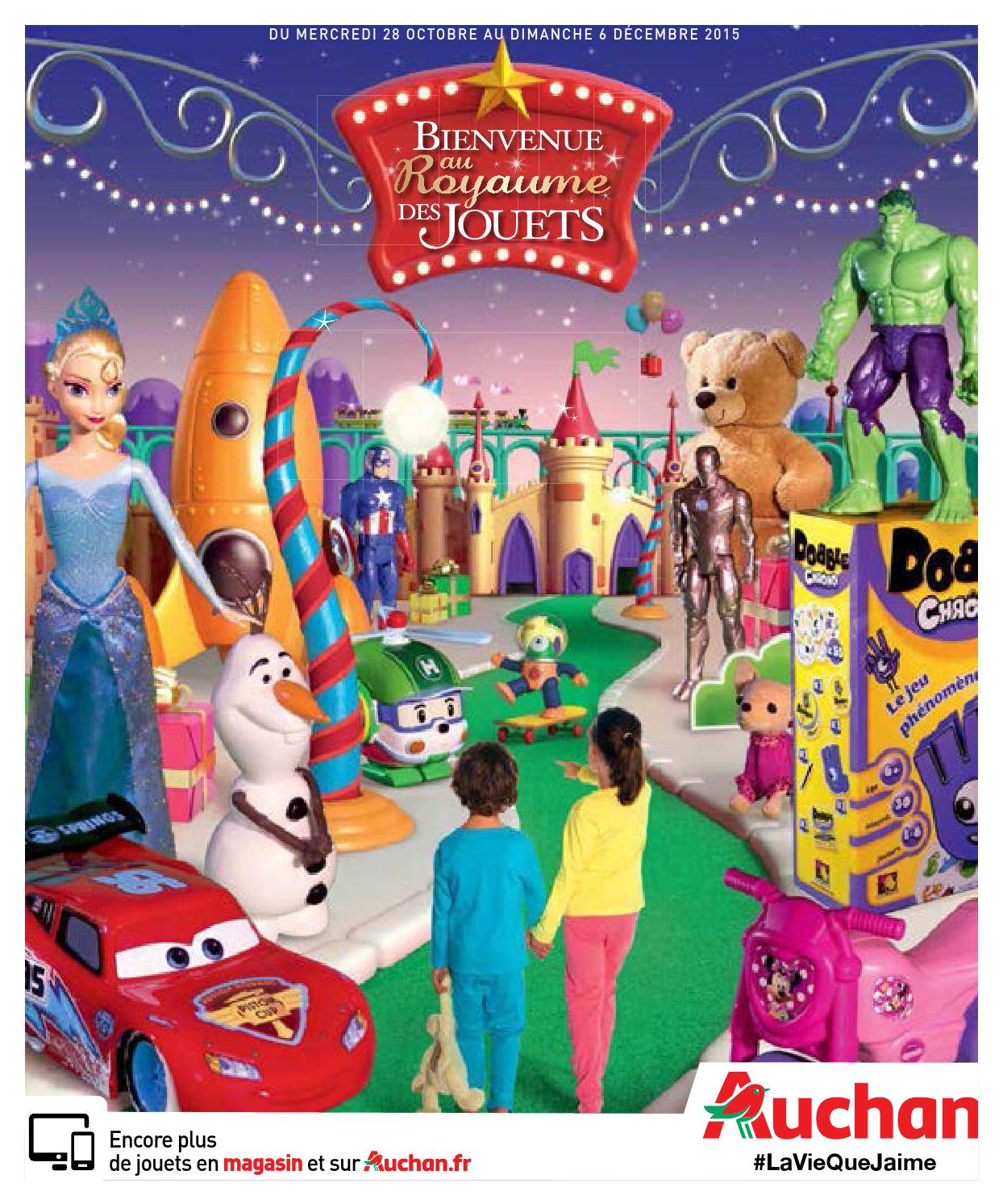 Catalogue jouets Noel 2015 Auchan by Yvernault issuu