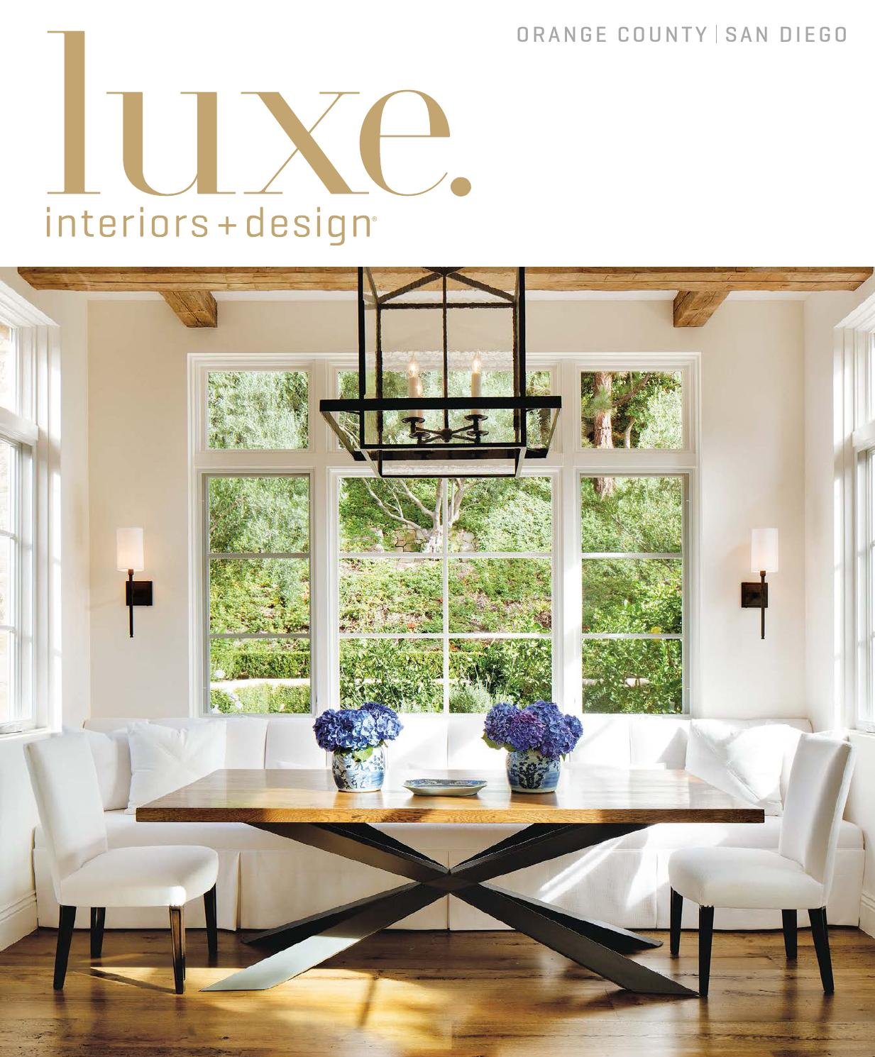 Luxe Magazine November 2015 Orange County San Diego By