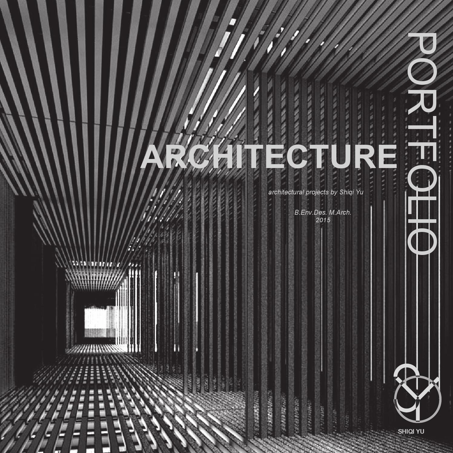Book Cover Architecture Pdf : Architecture portfolio by shiqi yu page issuu